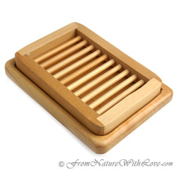 Ladder in Tray Style Soap Dish