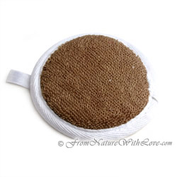 Round Flax Terry Pad