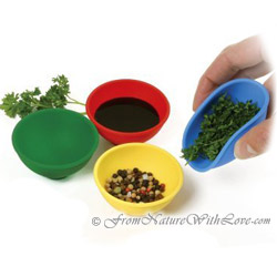 Silicon Mini Pinch Bowls (Set of 4)