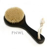 Dark Short Handled Bath Brush