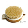 Round Bath Brush With Hand Loop