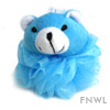 Bear Bath Pouf for Children