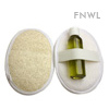 Large Oval Loofah Terry Pad