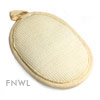Oval Ramie Terry Pad