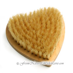 Heart Shaped Bath Brush