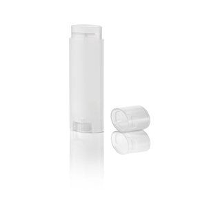 0.15 oz. Natural Oval Lip Balm Tube with Cap
