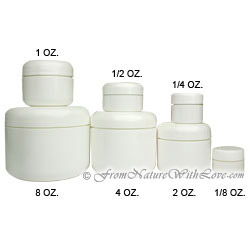 1/8 oz. Dome Cream Jar