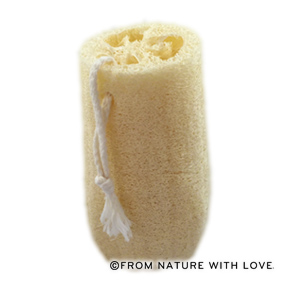 6 Inch Loofah Sponge with Rope