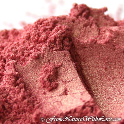 Two Tone Red Gold Mica Powder
