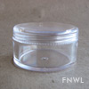 25 ml Polystyrene Sifter Jars with Caps
