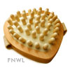 Heart Shaped Peg Cellulite Massage Brush