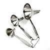 Stainless Steel Funnel Set With Handles