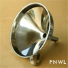 6 Inch Stainless Steel Funnel With Strainer