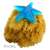 Natural Grass Sea Sponges, 6 inch