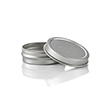 1/2 oz. Flat Metal Tin with Rolled Edge Lid